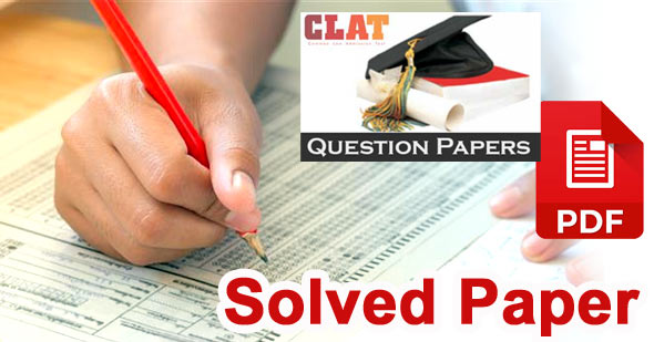 clat 2018 solved question paper pdf