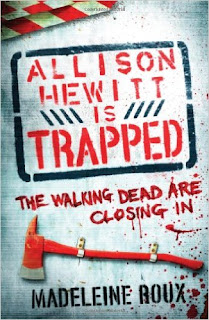 image, madeleine roux, allison hewitt is trapped, zombies