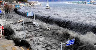 Kecepatan tsunami dapat menyapu apa saja yang dilaluinya