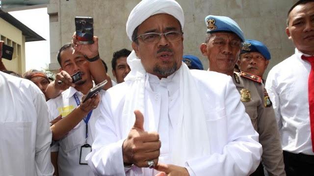 5 Penilaian Habib Rizieq Terhadap Pemerintahan yang Disampaikan Saat Reuni 212