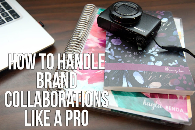 How to Handle Brand Collaborations Like a Blogging Pro