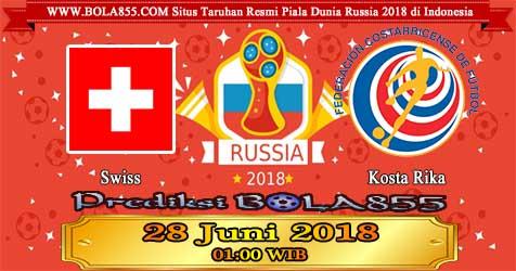 Prediksi Bola855 Switzerland vs Costa Rica 28 Juni 2018