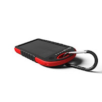 Solar Assist Charger  Shockproof/Water-Resistant 5300Mah Charger Power Bank IWIS2bbRjK
