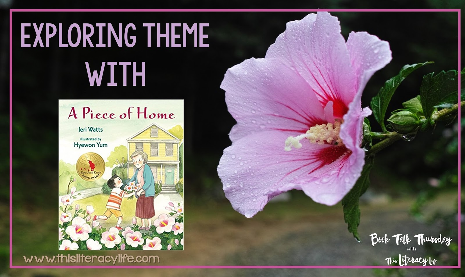 Theme in fiction can be tricky because so many times more than one are present in a story. Using picture books to explore theme will help students with this tricky comprehension skill.
