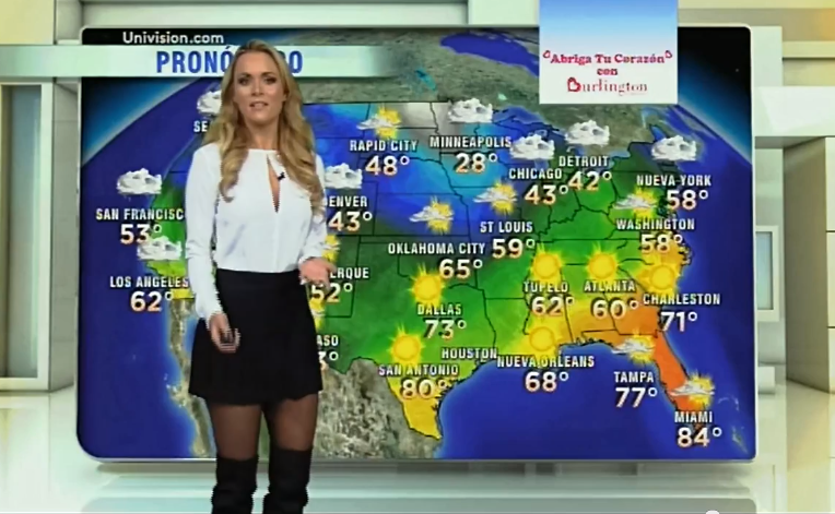 Univision Despierta America Weather Girl