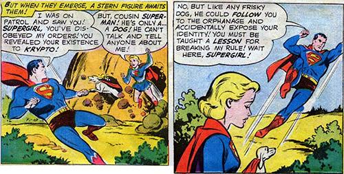 Supergirl Dog Collar