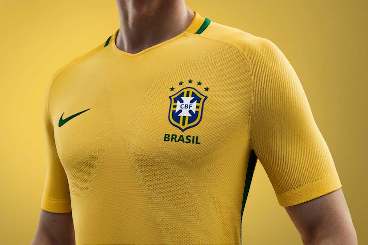 Brazil 2016 Copa America Kit Released - Footy Headlines fd73f3790b171