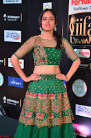 Nandita Swetha in a tight Green Choli Ghagra at IIFA Utsavam Awards March 2017 ~ 043.JPG
