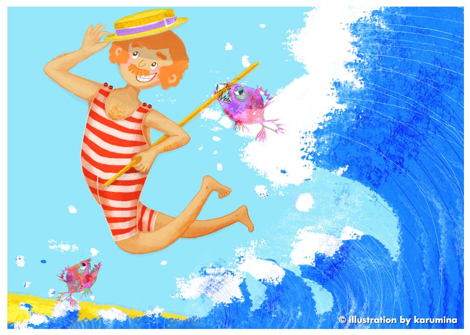 karumina children s book illustrator the adventures of gaston at