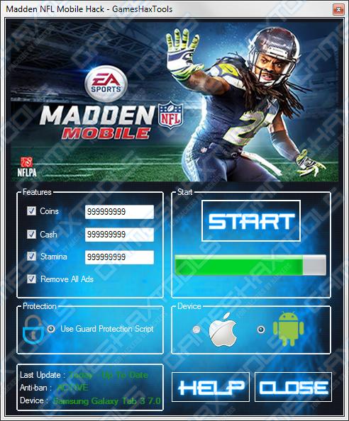 madden nfl mobile hack full working