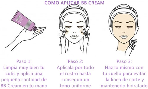Como se usa la BB Cream