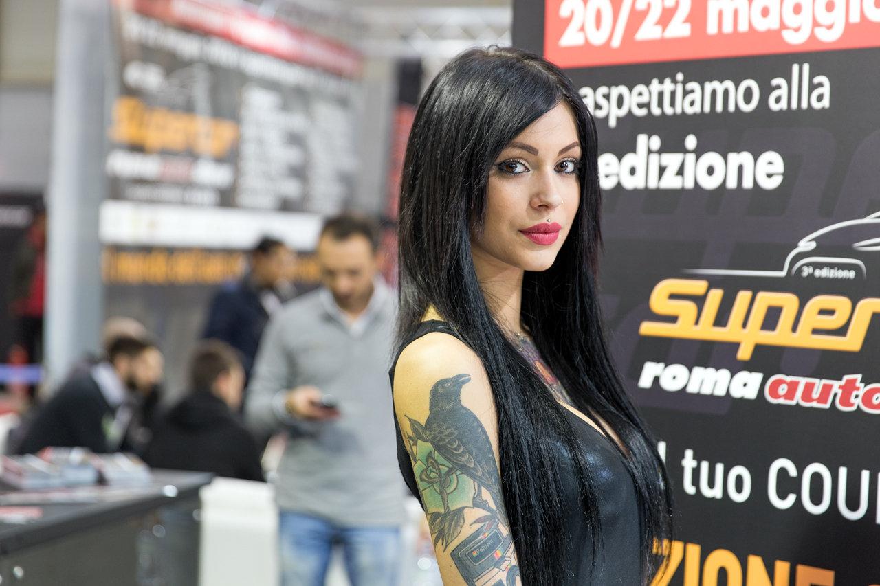 Real Riders Beautiful Italian Girls From Motodays 2016-7177