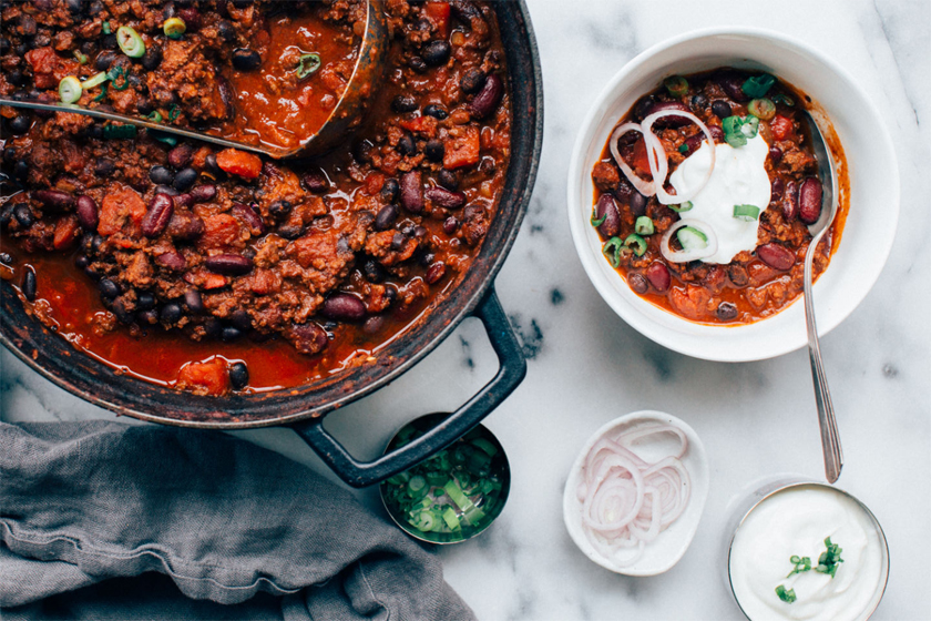 Lean Turkey Chilli Con Carne Recipe Healthy Lean High Protein