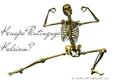 Pentingnya Kalsium Terutama Wanita Kalau Taknak Tulang Rapuh