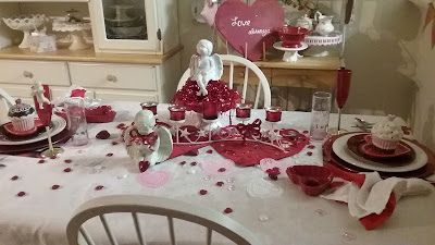 Valentine table for 2017