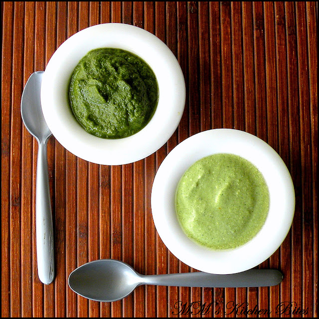 Indian Mint Chutney options mmskitchenbites
