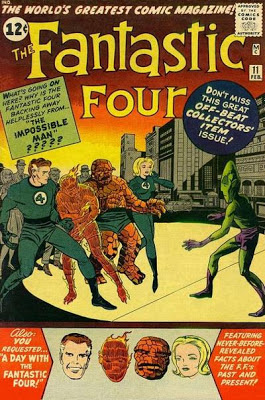 Fantastic Four #11, Impossible Man