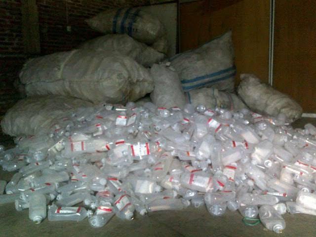 Botol Plastik Infus Termasuk Limbah Medis