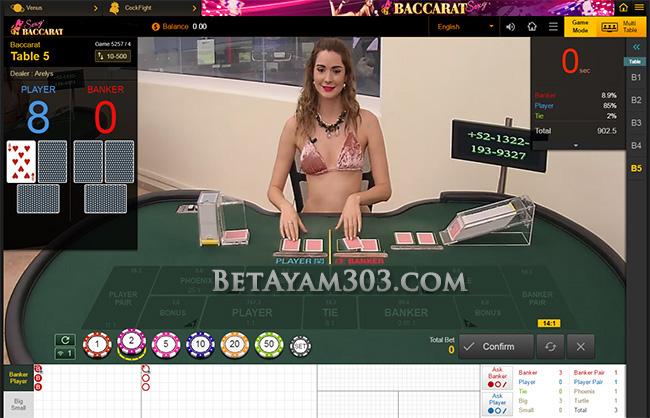 Judi Online Baccarat Sv388