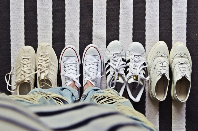 #lifehack | 8 Tipps, weisse Schuhe & Sneakers strahlend sauber zu reinigen  | luziapimpinella.com