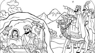 God Jesus Christ Christmas Coloring Pages