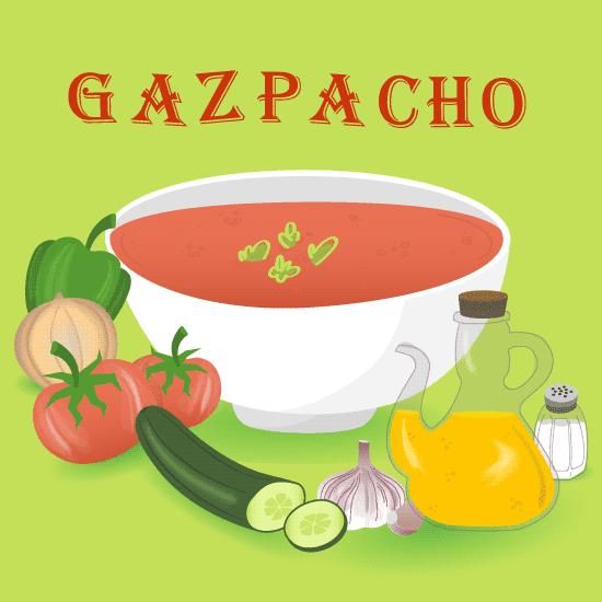 Gazpacho - vector