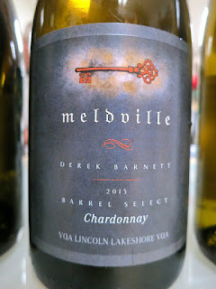 Meldville Chardonnay Barrel Select 2015 (90+ pts)