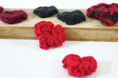 free crochet pattern, confetti, hearts, worsted, tutorial, Valentine