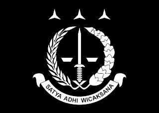Logo Kejaksaan Agung RI Vector q warna hitam putih mode