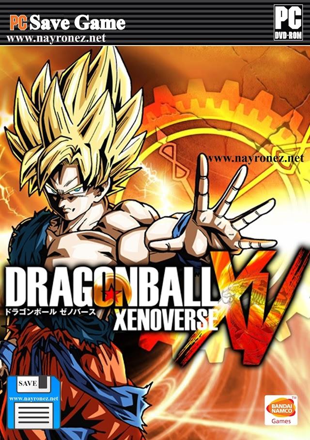 Save Game 100% Dragon Ball Z Xenoverse