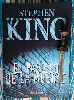 Portada del libro El pasillo de la muerte, de Stephen King