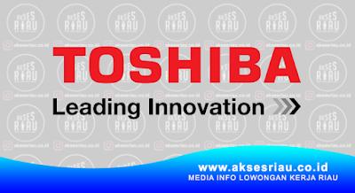 PT. Toshiba Visual Media Network Indonesia Pekanbaru