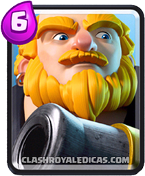 Carta Gigante Real de Clash Royale - Cards Wiki