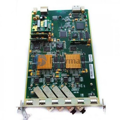 EPON OLT with 4-EPON Interfaces Module