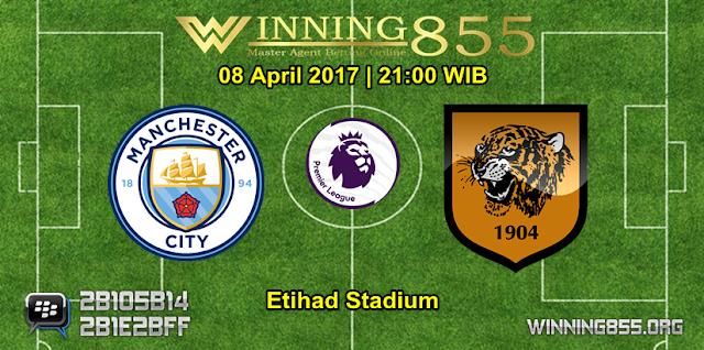 Prediksi Skor Manchester City vs Hull City 08 April 2017