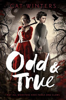 Odd & True by Cat Winters book cover and review