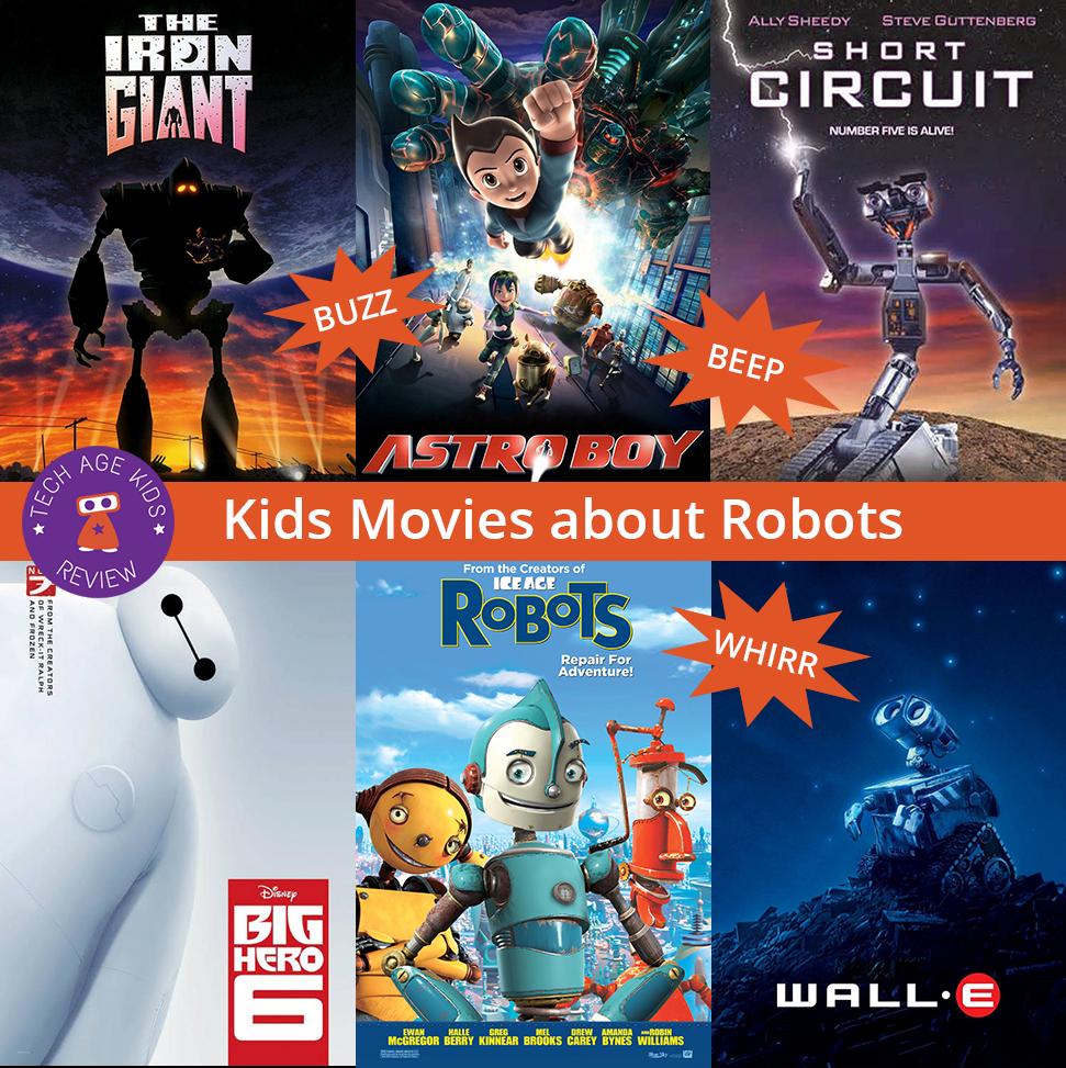 Kids Movies About Robots - Buzz, Whirr, Beep! | Tech Age Kids