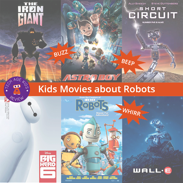 Kids Movies About Robots