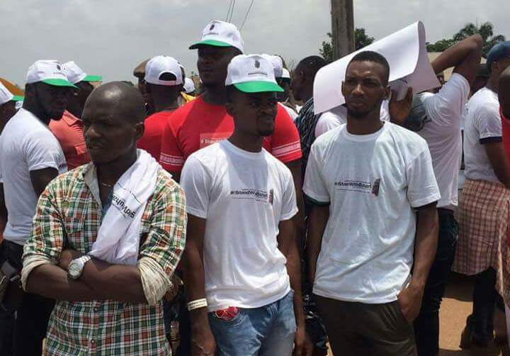 "See massive crowd of 25,000 at pro-Buhari rally, ""I Stand With Buhari"" in Awka, Anambra State"