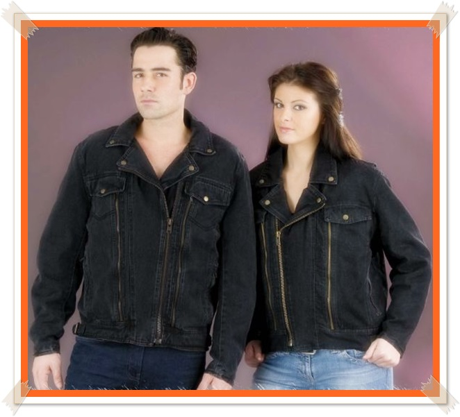 jaket couple jeans
