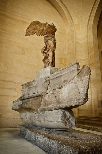 an analysis of the greek sculpture nike of samothrace Winged victory (nike) of samothrace about transcript nike (winged victory) of samothrace, lartos marble (ship) and parian marble greek art show all questions.