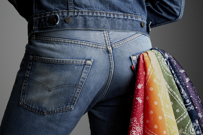 Levi's x Harvey Milk Foundation Pride Collection 2016