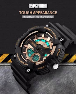 Jual Jam Tangan Skmei Tough Appearance