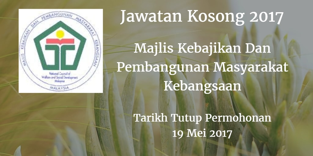 Jawatan Kosong MAKPEM 19 Mei 2017