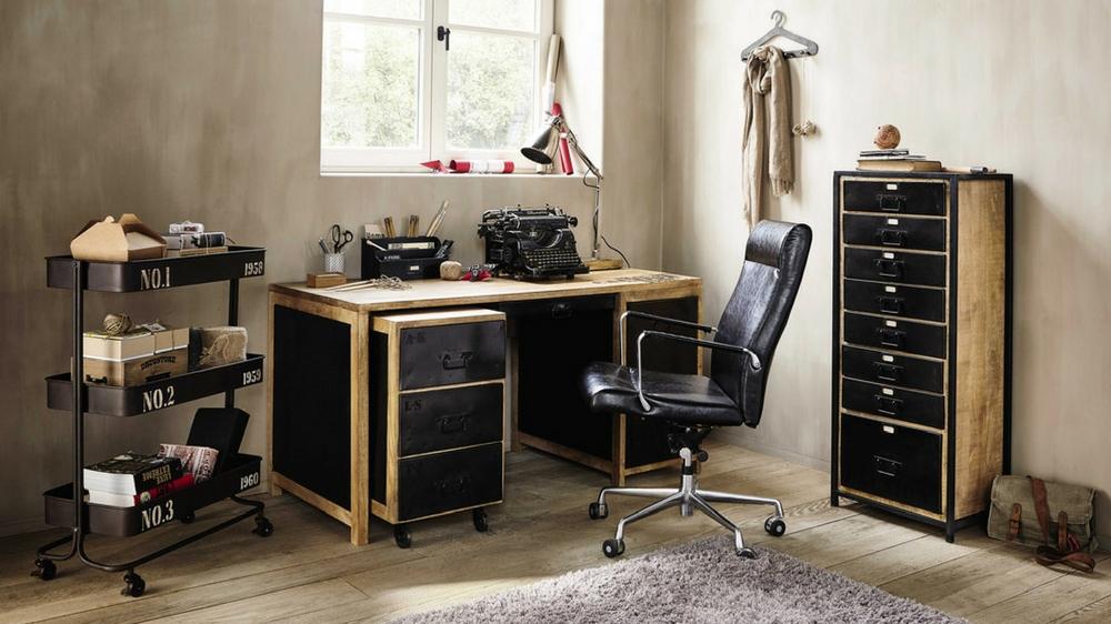 styles d co pour un bureau qui en jette echo d co. Black Bedroom Furniture Sets. Home Design Ideas