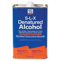powder coating cleaning prep denatured alcohol