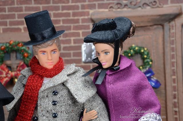Stroje dla Barbie i Kena.