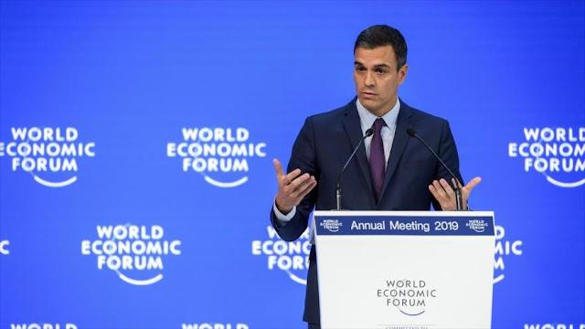 Partidos españoles condenan apoyo de Sánchez al golpe en Venezuela