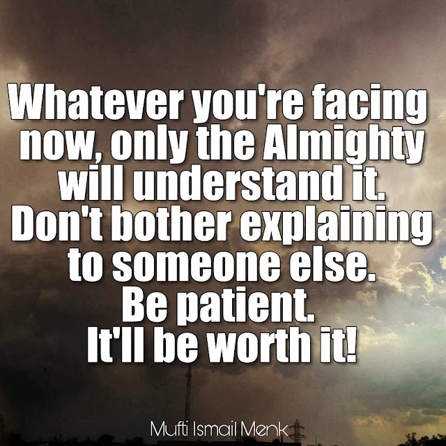 Mufti Menk Quotes about Worry