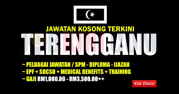 Jawatan Kosong Terkini di Terengganu